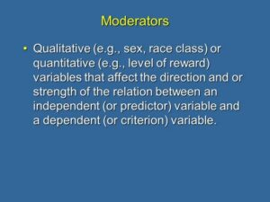 3. Moderation and Mediation Explained