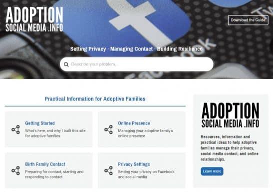 adoption social media info